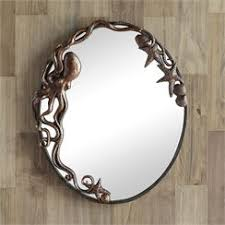 octopus oval wall mirror octopuses pinterest octopus wall