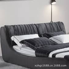 charming small modern bedroom large bed bedcover black wooden
