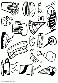 healthy food coloring pages preschool healthy or unhealthy food coloring pages for preschool and sharry me