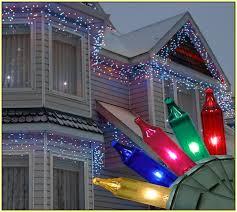 white led icicle lights buy holiday time multi color white led icicle lights 225 count in