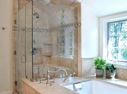 shower corner tub shower sexualexpression glass shower doors