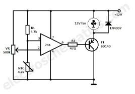 temperature activated light switch temperature controlled dc fan