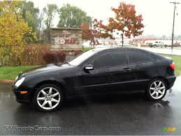2004 mercedes c230 coupe 2004 mercedes c 230 kompressor coupe in black 625260