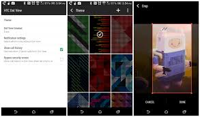 htc one m8 dot view app updated with wallpaper chooser and more