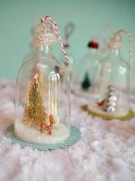ornaments made with plastic wine glasses from dollar store diy