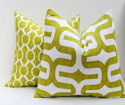 Fall Decorative Pillows - lime green throw pillows green pillow covers lime green outdoor