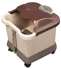 amazon com carepeutic deluxe motorized foot and leg spa bath amazon com carepeutic deluxe motorized foot and leg spa bath massager light burgundy brown health personal care