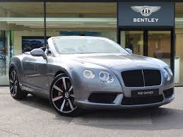 bentley car convertible bentley cars for sale at motors co uk