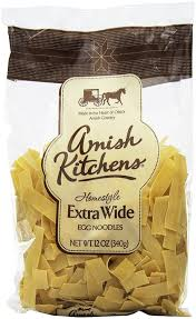 amazon com amish kitchen noodles extra wide 12 ounce bags