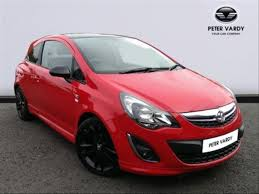 vauxhall corsa 2016 vauxhall corsa hatchback special eds 1 2 limited edition 3dr