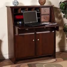 Recliner Laptop Desk by Sunny Designs Cappuccino Drop Leaf Laptop Desk Armoire Wayside