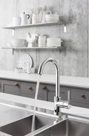 46 best kitchen taps images on pinterest kitchen mixer taps a tap with a sleek streamlined aesthetic cucina kai lever side lever kitchen mixer