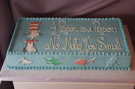 dr seuss cakes baby showers jcakes