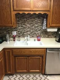 vinyl kitchen backsplash vinyl backsplash ideas bothrametals