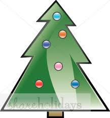 brown christmas tree large christmas tree with ornament dots christmas tree clipart