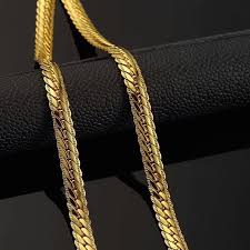 trendy gold chain necklace images Trendy gold chain for men jewelry wholesale yellow gold 18k stamp jpg