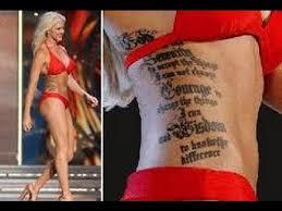 miss kansas u0027 tattoos turning heads at miss america pageant youtube