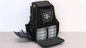 calcutta ct3000bpa tackle backpack framed 3 360 trays 2531 0090
