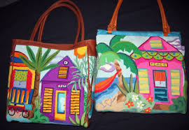Conch House by Conch House Tote Julie Pischke Needlepoint Designs