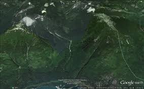 Earth Maps Google Earth Maps Dakota Bowl Watershed Elphinstone Logging