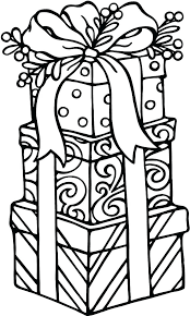 coloring pictures of christmas presents christmas presents coloring pages cliptext co