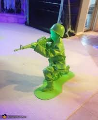 Army Guy Halloween Costume Plastic Army Men Family Halloween Costume Photo 2 2
