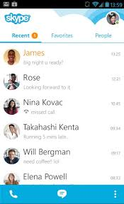 skype android app skype revs android app after 100m installs geekwire