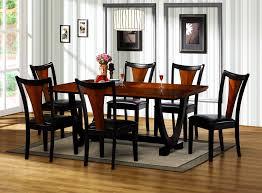 furniture knockout modern walnut table wenge finish dining oval