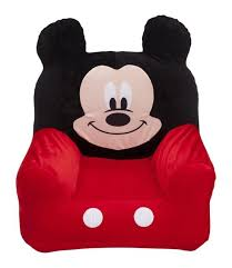 mickey mouse clubhouse childrens inflatable chair kids blow up