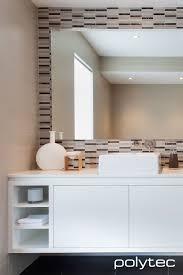 White Vanity Bathroom Ideas Vanity In Melamine Classic White Matt Kitchens Polytec Borg