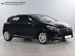 used renault clio black for sale motors co uk