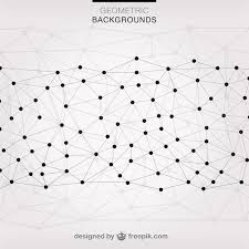 triangle pattern freepik geometric triangles connected with dots vector free download