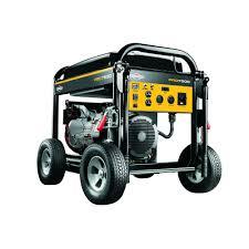 briggs u0026 stratton pro series 10 000 watt gasoline powered portable