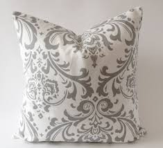 Grey Decorative Pillows How To Fix The Unique Throw Pillows