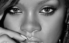 rihanna face singer makeup hd wallpaper 4817 wallpaper