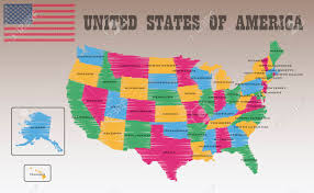 america map carolina united states of america map royalty free cliparts vectors and