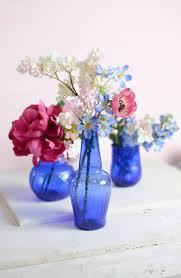 cool vases cobalt blue glass vase arafen