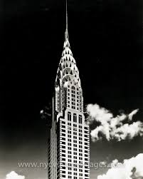 portrait of the chrysler building 1930 nyc vintage images
