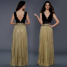 Black And Gold Lace Prom Dress Black And Gold Prom Dresses 2015 Naf Dresses