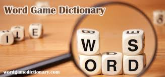 scrabble word list and more word game dictionary