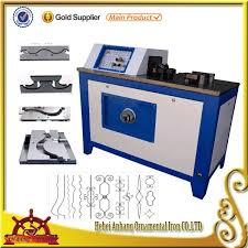 metal craft wrought iron scroll bender machinery buy flat iron