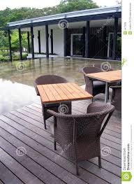 outdoor patio cane furniture royalty free stock photos image