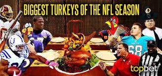 10 turkeys of the 2013 2014 nfl season football flops