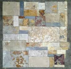 Slate Mosaic Tile  Flooring EBay - No grout tile backsplash
