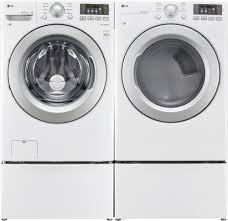 Propane Clothes Dryers Lg Wm3270cw 27 Inch Front Load Washer With Nfc Smartphone
