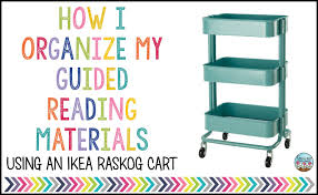 Raskog Cart Growing Little Minds How I Organize My Guided Reading Supplies