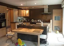 ilot de cuisine avec table cuisine avec ilot et table plataformaecuador org