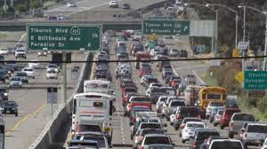 Traffic Map San Diego by 10 Worst Freeways In The U S For Traffic