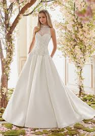 teacup wedding dresses duchess satin gown wedding dress skirt style 6844 morilee