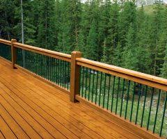 boston horizontal deck railing balcony beach style with ocean view